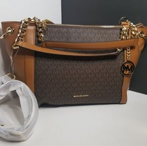 NEW!Michael Kors Large Satchel/Crossbody